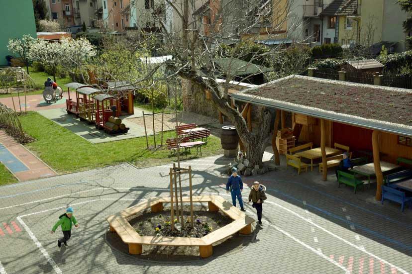 Dětské hřiště mateřské školy Štolcova